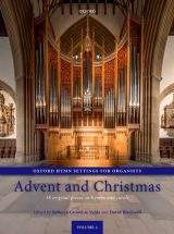 Oxford Hymn Settings for Organists, volume 1: Advent and Christmas
