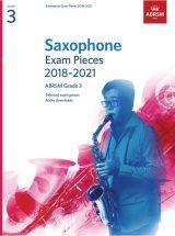 ABRSM Saxophone Exam Pieces 2018-2021